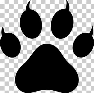 Polydactyl Cat Paw Footprint PNG