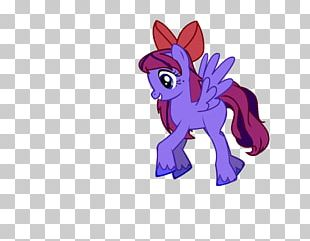 Pony Horse Cartoon Font PNG