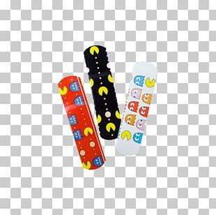 Worlds Biggest Pac-Man Space Invaders Donkey Kong Adhesive Bandage PNG