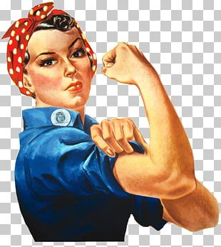 Rosie The Riveter We Can Do It! United States Second World War PNG