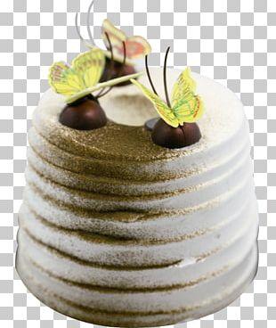 Buttercream Petit Four Mousse Torte Cake Decorating PNG