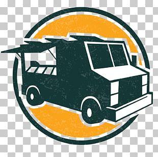Food Truck Hamburger Logo French Fries Fast Food PNG