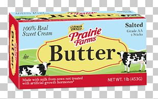 Buttermilk Land O'Lakes Prairie Farms Dairy Unsalted Butter PNG