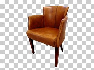 Club Chair Wing Chair Furniture Leather PNG
