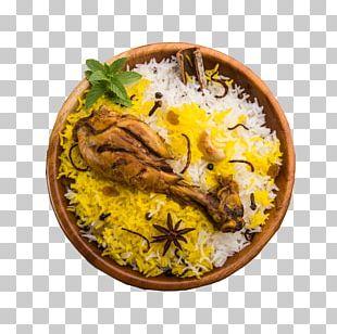 Hyderabadi Biryani Indian Cuisine Dish Chicken Meat PNG