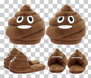 Slipper Shoe Pile Of Poo Emoji Stuffed Animals & Cuddly Toys PNG