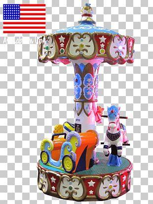 Carousel Kiddie Ride Amusement Park Horse Game PNG