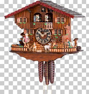 Cuckoo Clock Black Forest Pendulum Clock Movement PNG