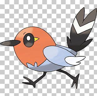 Fletchling Pokemon PNG