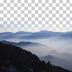 Fog Landscape Euclidean PNG