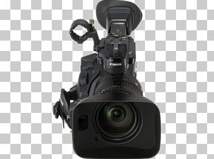 Camera Lens Professional Video Camera Camcorder PNG