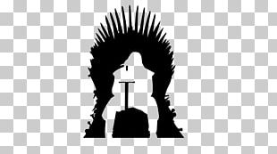Game Of Thrones Silhouette Iron Throne Eddard Stark PNG