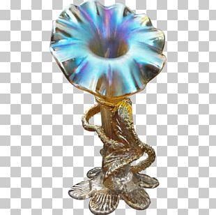 Bohemia Johann Loetz Witwe Vase Glass Art PNG