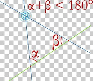 Parallel Postulate Axiom Vikidia Geometry Angle PNG