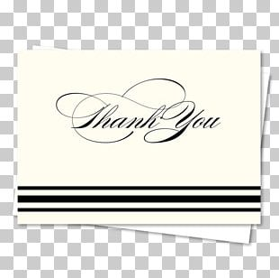 Handwriting Calligraphy Letter Of Thanks Font PNG