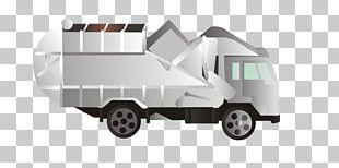 Garbage Truck Waste Pickup Truck PNG
