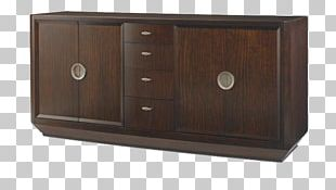 Sideboard Drawer Filing Cabinet Wood Stain PNG