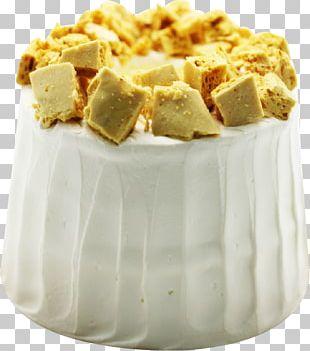 Chiffon Cake Dessert Bar Frozen Dessert Cream Praline PNG