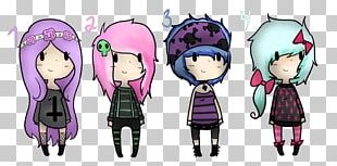 Gothic Fashion Drawing Goth Subculture Art PNG