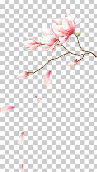 Pink Flowers Petal Computer File PNG