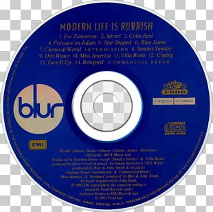 All The People: Blur Live At Hyde Park Compact Disc Modern Life Is Rubbish Album PNG