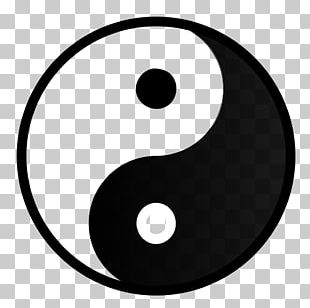 Yin And Yang Symbol Taijitu Taoism Quality PNG