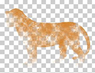 Lion Mane Mustang Dog Hunger PNG