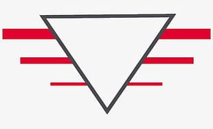 Triangle And Red Lines PNG