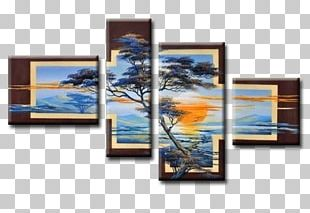 Oil Painting Canvas Panel Painting PNG