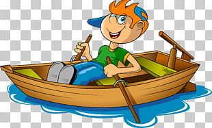 Rowing Boat Canoe PNG