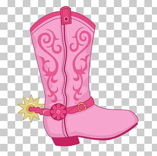 Cowboy Boot Hat 'n' Boots PNG