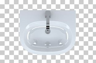 Ceramic Kitchen Sink Glass Tap PNG