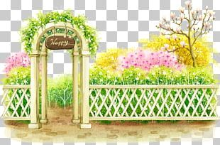 Flower Garden Flower Garden Illustration PNG
