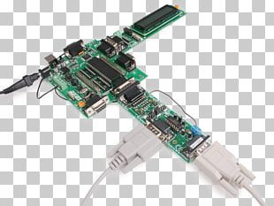 Microcontroller RS-232 Interface Electronics Network Cards & Adapters PNG
