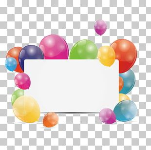 Birthday Greeting Card Balloon PNG