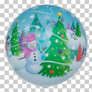 Cityballoon Saarland Snowman Christmas Ornament PNG