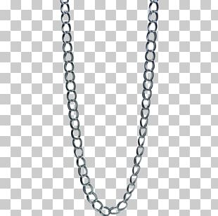 Necklace Figaro Chain Jewellery Sterling Silver PNG