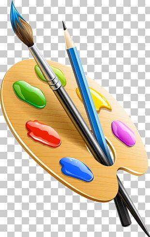 Paintbrush Drawing Pencil Palette PNG