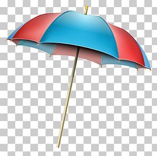 Umbrella Beach PNG