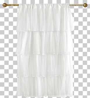 Curtain Ruffle Painting PNG