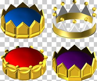 Metal Gold Crown PNG