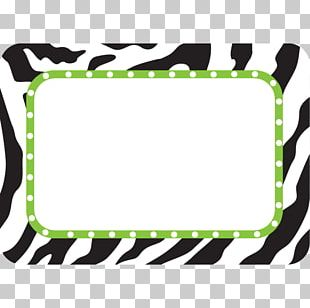 Name Tag Label Sticker Animal Print Name Plates & Tags PNG