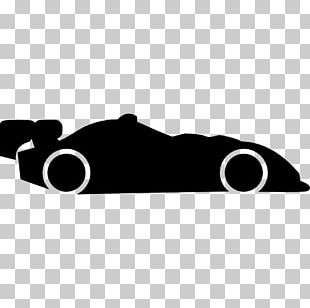 Sports Car Auto Racing Silhouette PNG