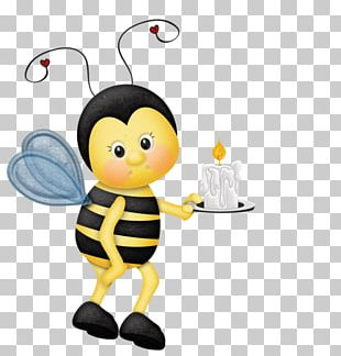 Western Honey Bee Insect Queen Bee Drawing PNG