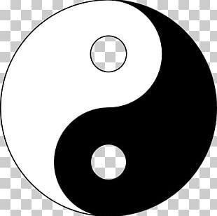 Yin And Yang Taoism Symbol Chinese Philosophy Taijitu PNG