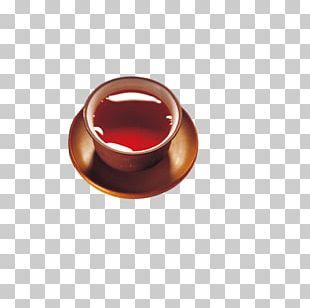 Teacup Keemun Chenpi Puer Tea PNG