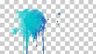 Watercolor Painting Drawing Art Drip Painting PNG