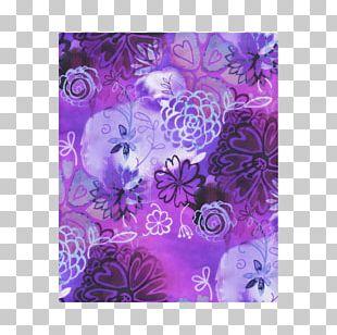 Petal Violet Watercolor Painting Visual Arts PNG