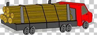 Car Pickup Truck Logging Truck Lumberjack PNG
