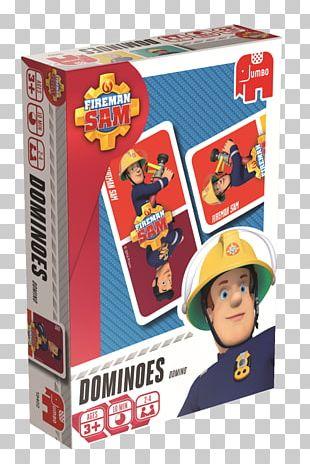 Dominoes Fireman Sam Jigsaw Puzzles Jumbo Games PNG